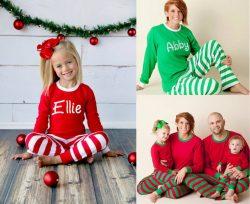 Small Of Elf On The Shelf Pajamas