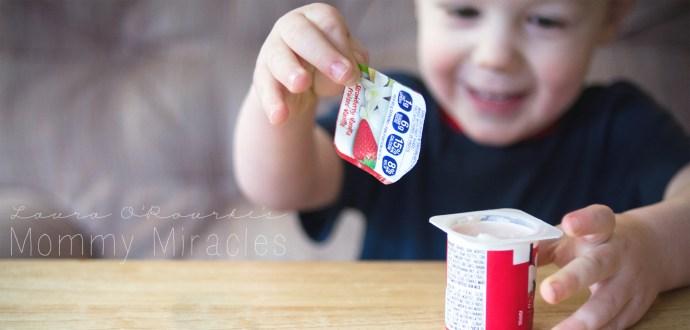Opening a yogurt