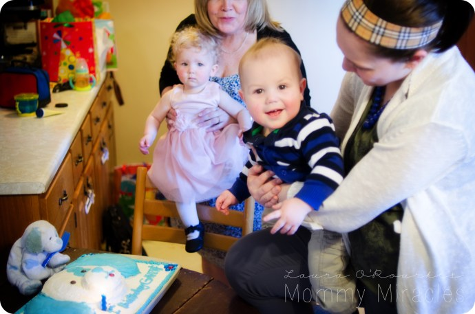 Gavin's First Birthday Party