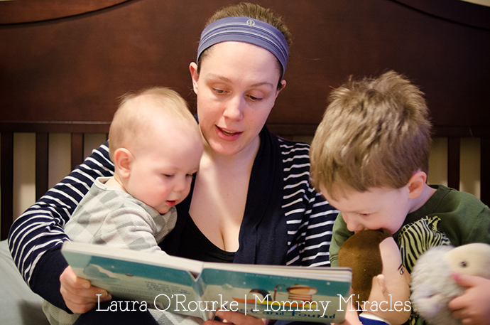 Reading with Baby | Mommy-Miracles.com