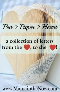 Pen to Paper to Heart guest post