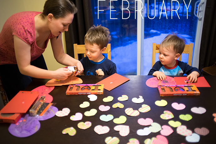 2014 in 12 Photos | February | Mommy Miracles