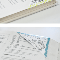 Washi tape crafts: Washi tape bookmarks