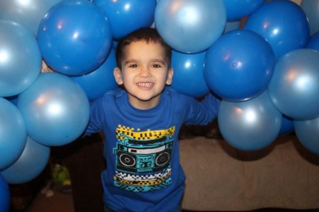 Balloon Fun Boys Portraits