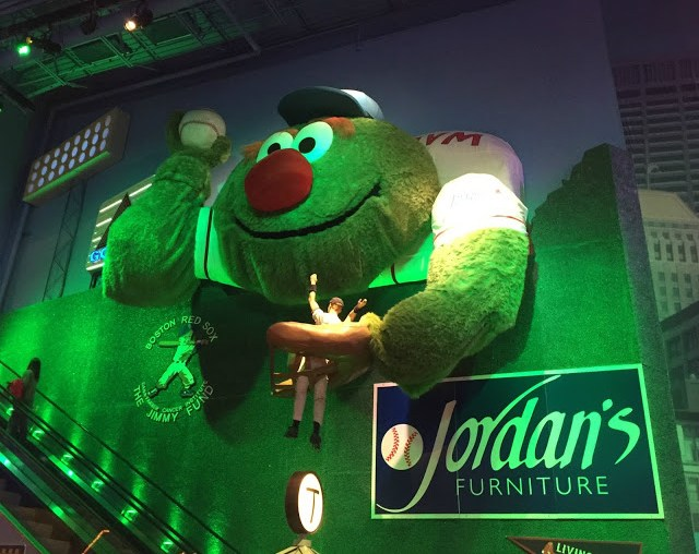 Beantown At Jordan 39 S Furniture In Reading Featuring The Beanstalk Adventure Rope Course
