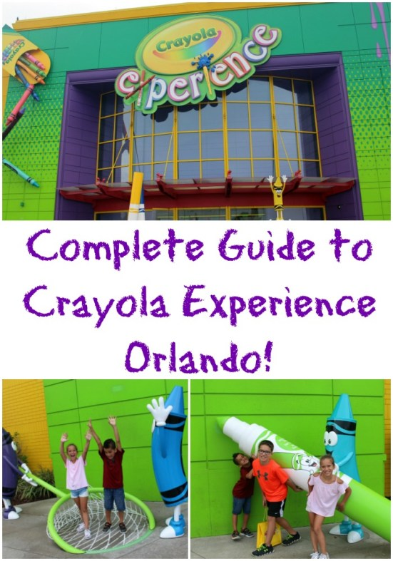 Complete Guide to the Crayola Experience in Orlando!