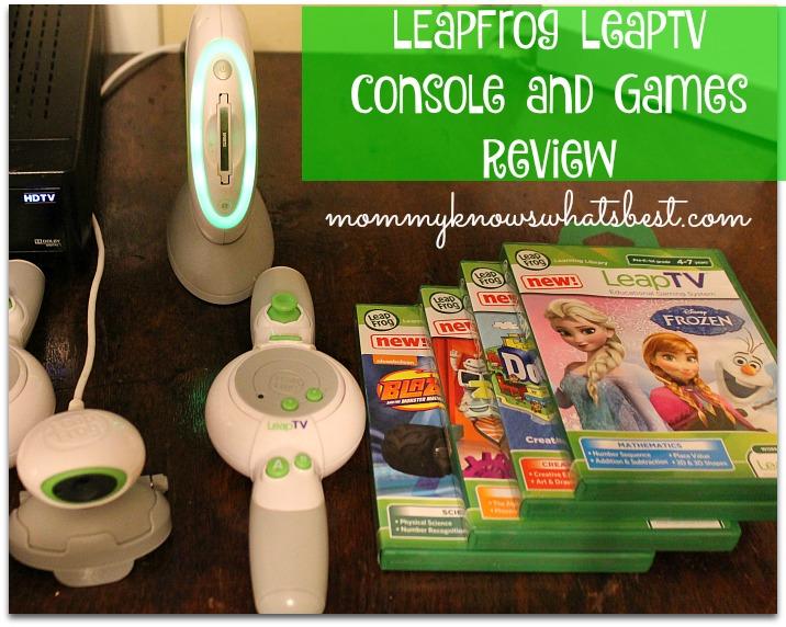 LeapFrog LeapTV Review