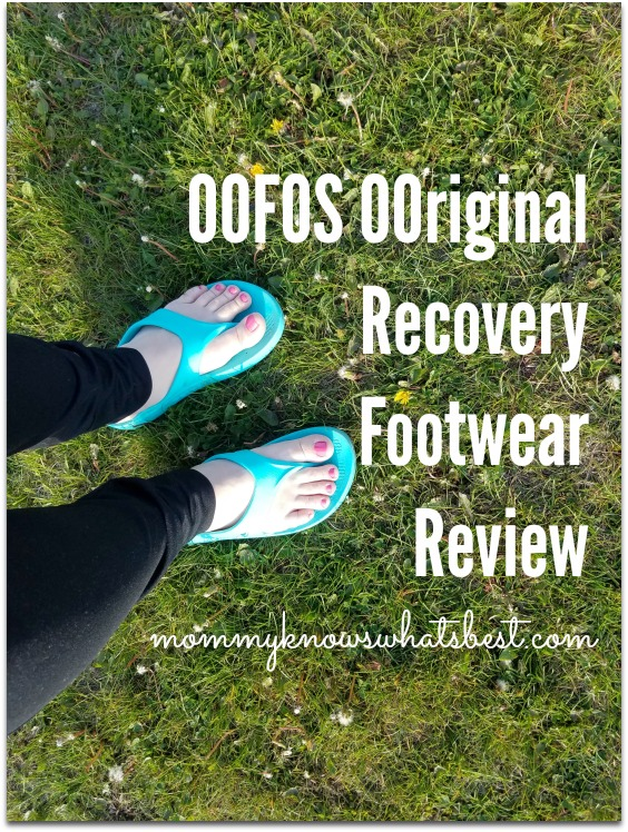 oofos recovery sandals review