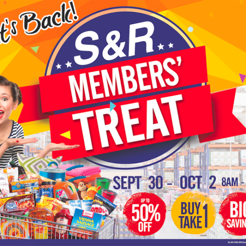 Let's Go to S&R this September 30-October 2