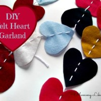 Tutorial Tuesday! Heart Garland