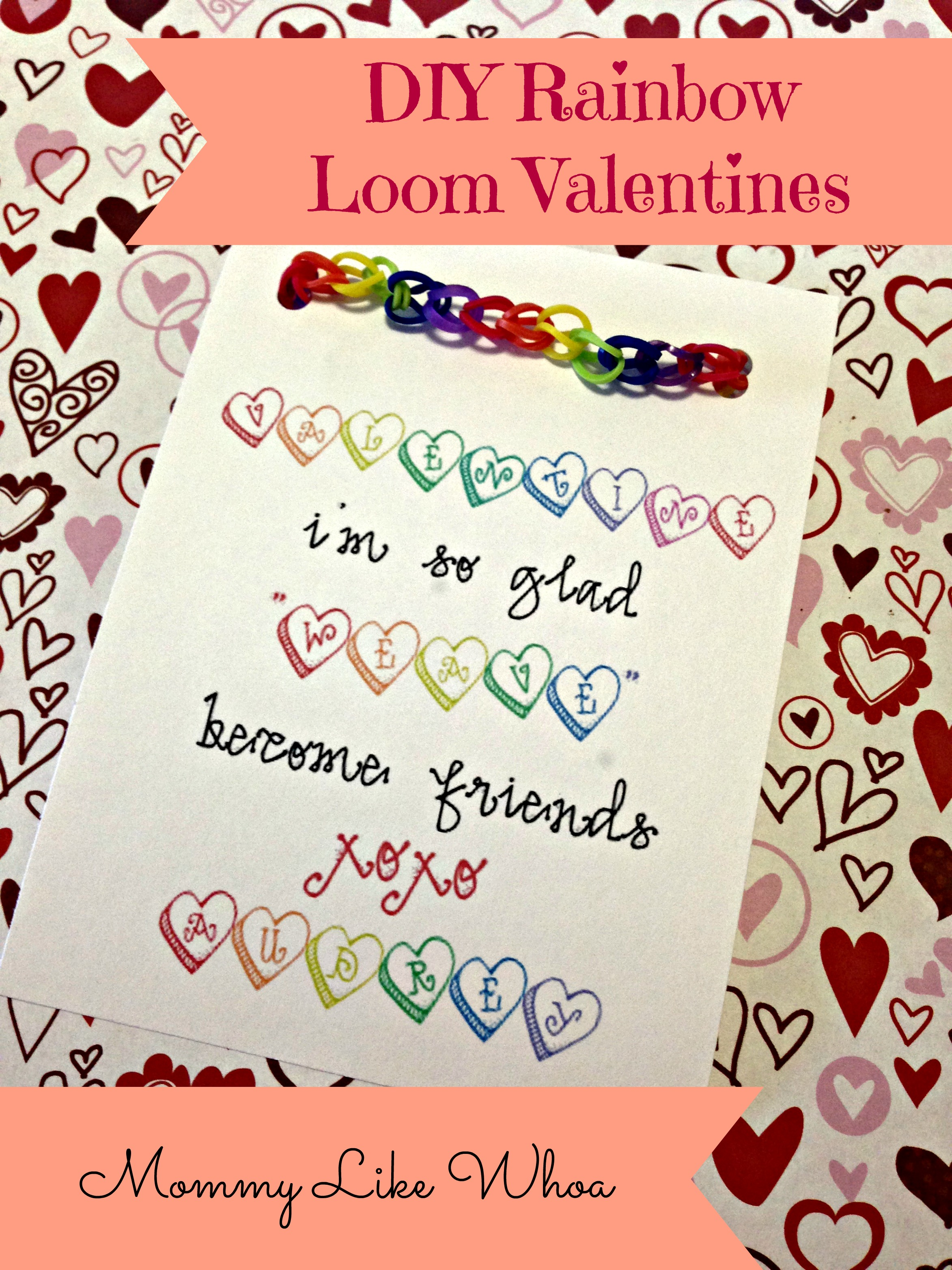 DIY Valentines Day Cards Mommy Like Whoa – First Valentine Day Card