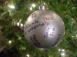 Small Of Personalized Family Christmas Ornaments