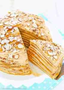 Dulce de Leche Crepe Cake