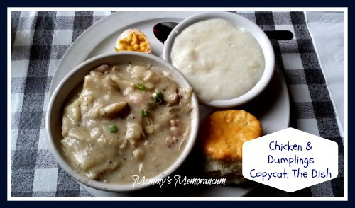 Chicken & Dumplings The Dish #Copycat