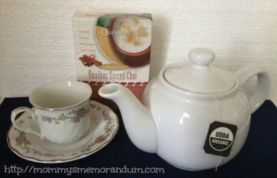 davidson's organic roobios spiced chai