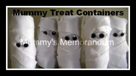 mummy treat favors Halloween Party Supplies