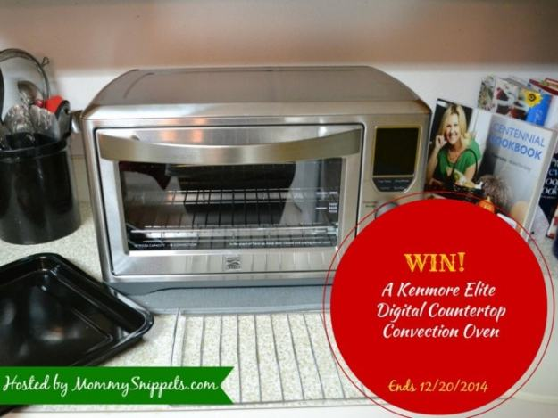 Win a Kenmore Elite  Digital Countertop Convection Oven with Mommy Snippets ( Ends1220)