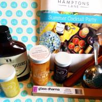 July 2014 Hamptons Lane Subscription Box Review & Coupon - Summer Cocktail Party!