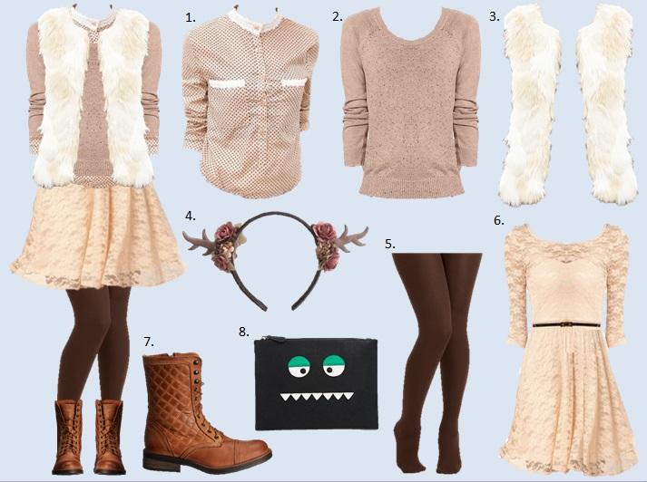 What To Wear: Casual Hallloween Costume 2014 / See this and more at WWW.MOMMYSTYLIST.COM!