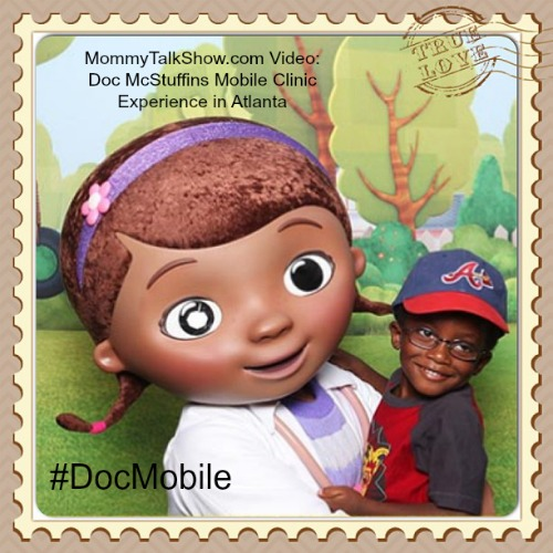 VIDEO: Doc McStuffins Mobile Clinic Experience in Atlanta #DocMobile