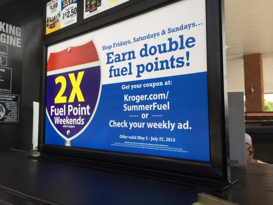 Double Fuel Points
