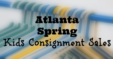 2017 Atlanta Spring Kids Consignment Sales