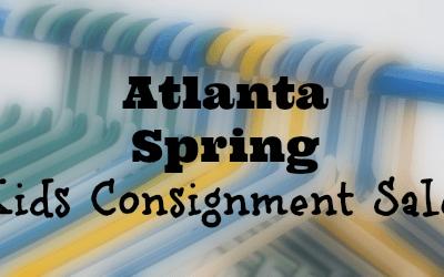 2017 Atlanta Spring Kids Consignment Sales