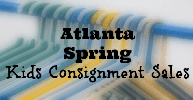 Atlanta Spring Kids Consignment Sales