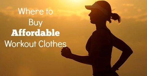 Where to Buy Affordable Workout Clothes