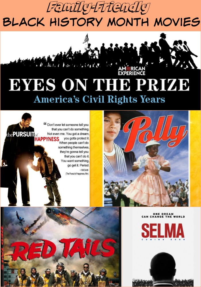 Family Friendly Black History Month Movies