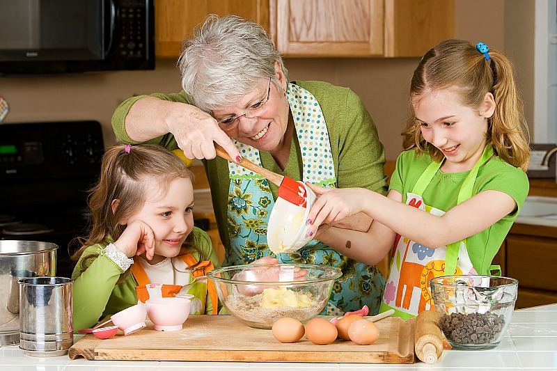 Grandmother Visit