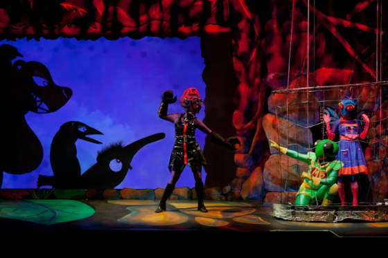 Bug Lovers Head to Center for Puppetry Arts a Creepy Good Show
