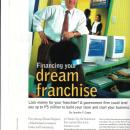 Financing That Dream Franchise
