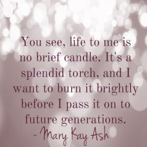 Mary Kay quote