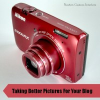 Taking Better Pictures For Your Blog