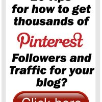 20 Tips to get more traffic from Pinterest