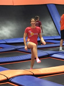Sky Zone, Marathons and A Worm