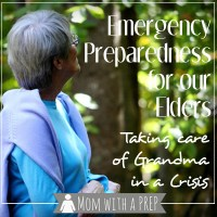 Emergency Preparedness for Your Elders - How to Take Care of Grandma in a Crisis