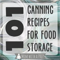 101+ Canning Recipes for Food Storage + All American Canner Giveaway