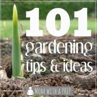 101 Gardening Tips & Ideas
