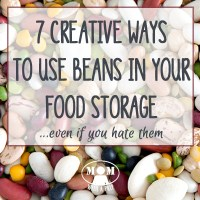 7 Creative Ways to Use Food Storage Beans - Even When You Hate Them