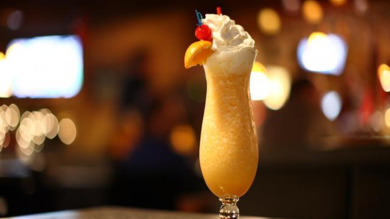 pina colada états-unis barman