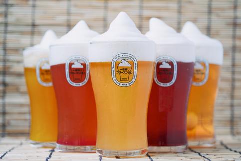 Bière glacée été