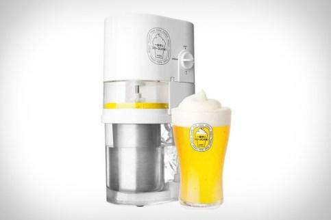 glace à la bière