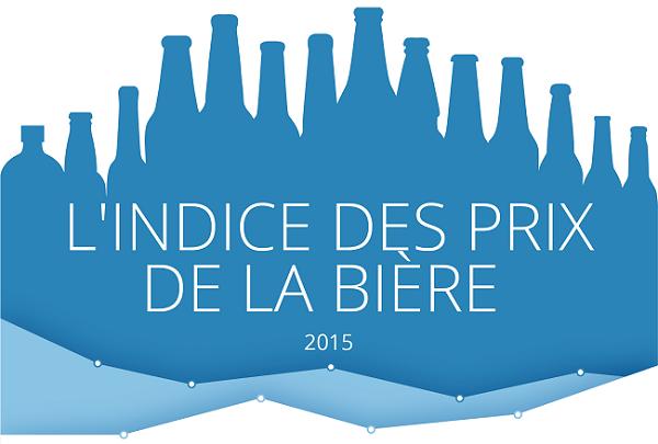 indice prix de la bière 2015