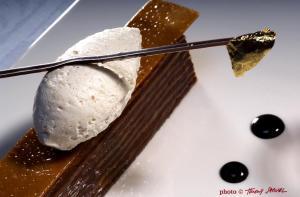 millefeuille chocolat et chocolat frédéric lesourd