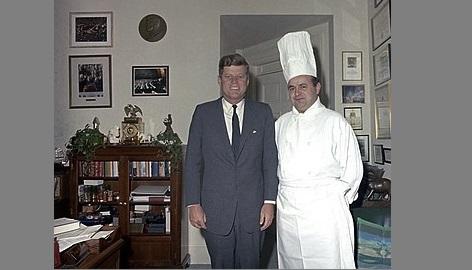 president des usa chef de cuisine années 60