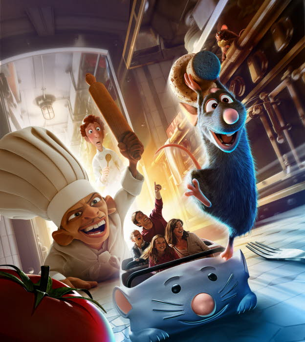 Disneyland attraction ratatouille