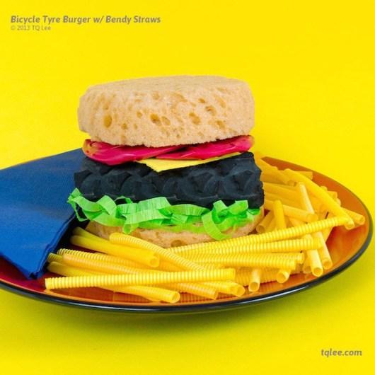 burger aux pailles