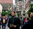 Pierre leading the way in Riquewihr © French Moments